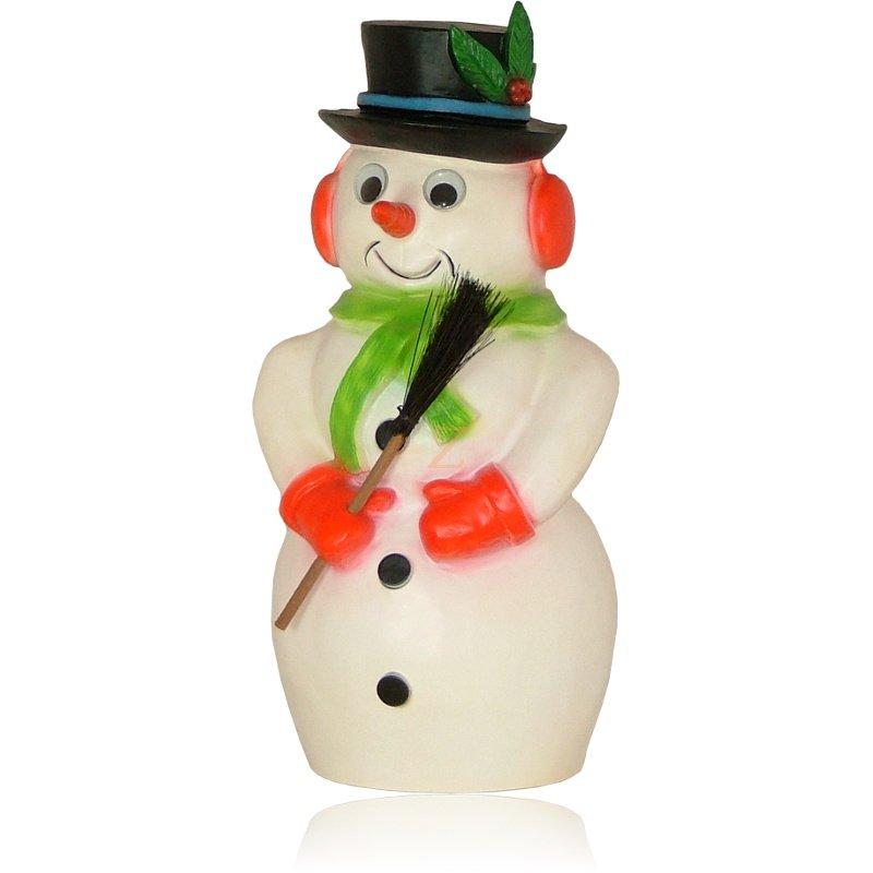 schneemann dekolampe dekoration weihnachten